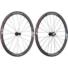 FSA Vision Trimax Carbon 40 Wheelset Clincher Shimano 6B Disc black/grey
